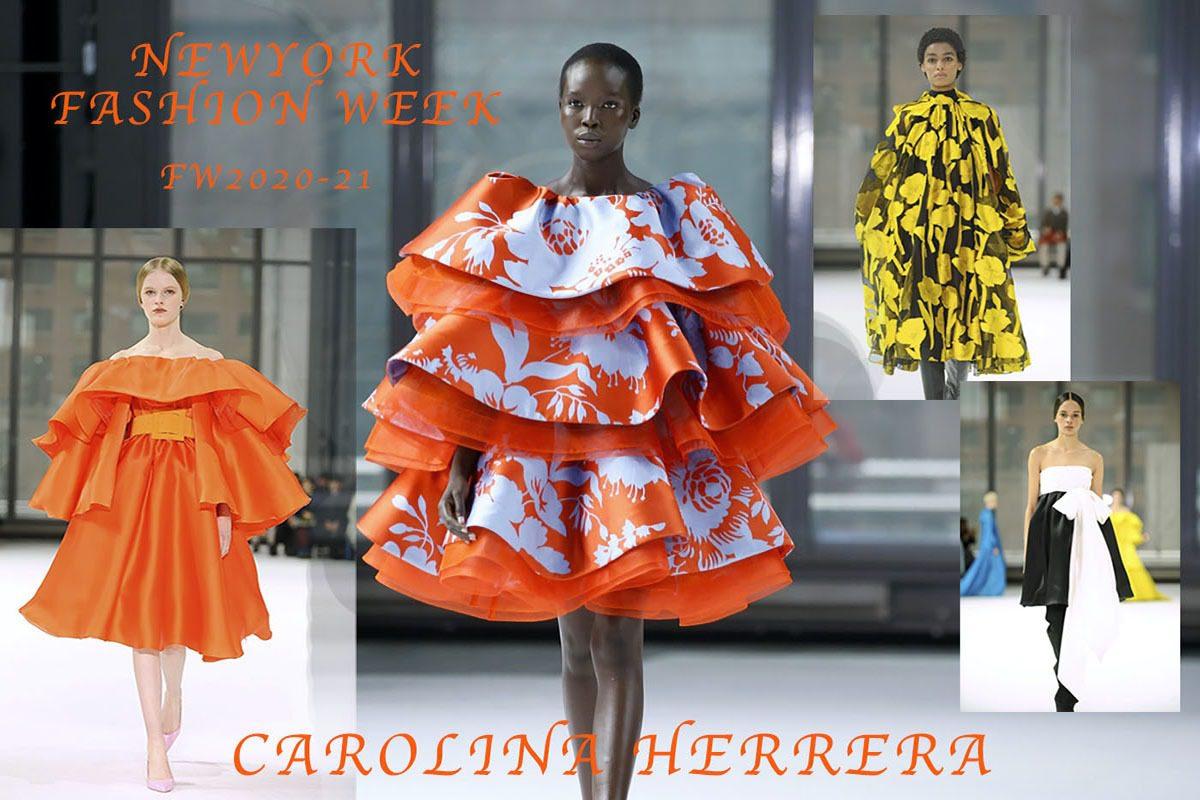CAROLINA HERRERA NEW YORK FASHION WEEK