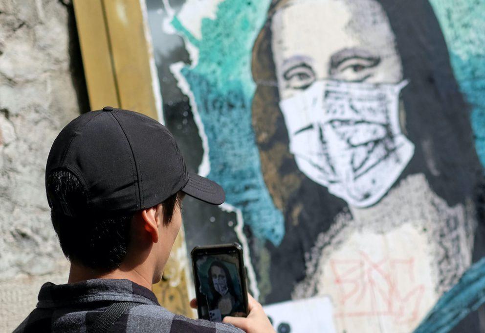 IL COVID-19 ISPIRA GLI STREET ARTIST DI TUTTO IL MONDO