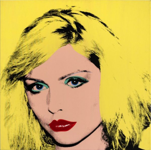 Debbie Harry 1980, Private Collection of Phyllis and Jerome Lyle Rappaport 1961, © 2020 The Andy Warhol Foundation for the Visual Arts, Inc. : Licensed by DACS, London