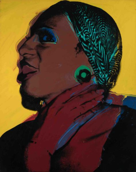 Ladies and Gentlemen (Wilhelmina Ross) 1975,, Italian private collection, © 2020 The Andy Warhol Foundation for the Visual Arts, Inc. _ Licensed by DACS, London