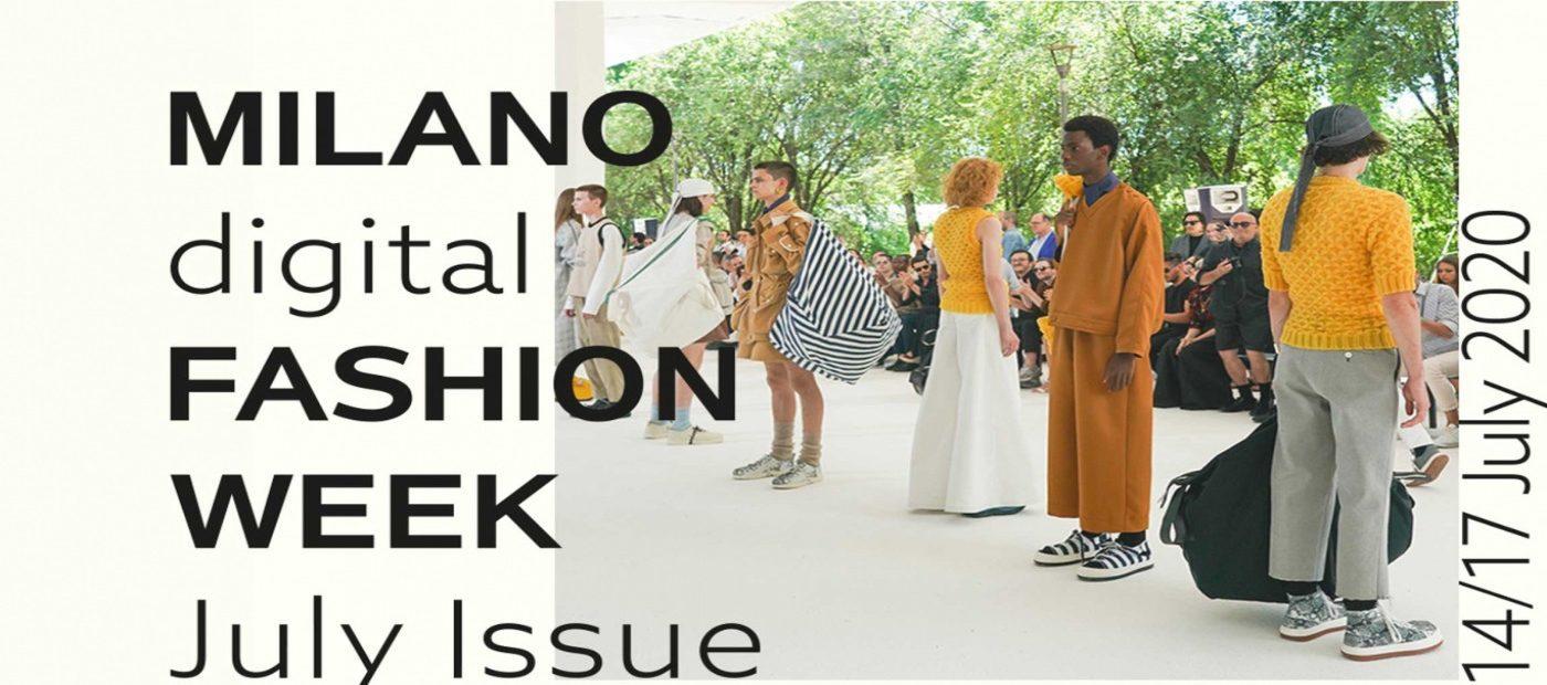 Milano moda uomo: la prima Digital Fashion Week. Cosa aspettarsi