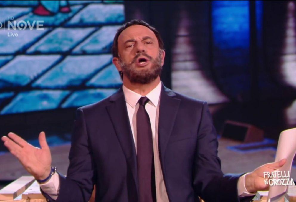 """""""Posso limonare con una signora?"""" Il Salvini di Crozza torna alla carica"""
