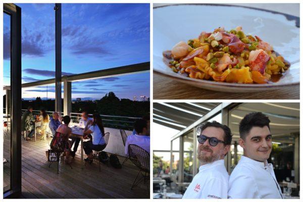 Fresco di stampa il nuovo menu studiato dall'Executive Chef Stefano Cerveni e dal Resident Chef Salvatore Demuro: