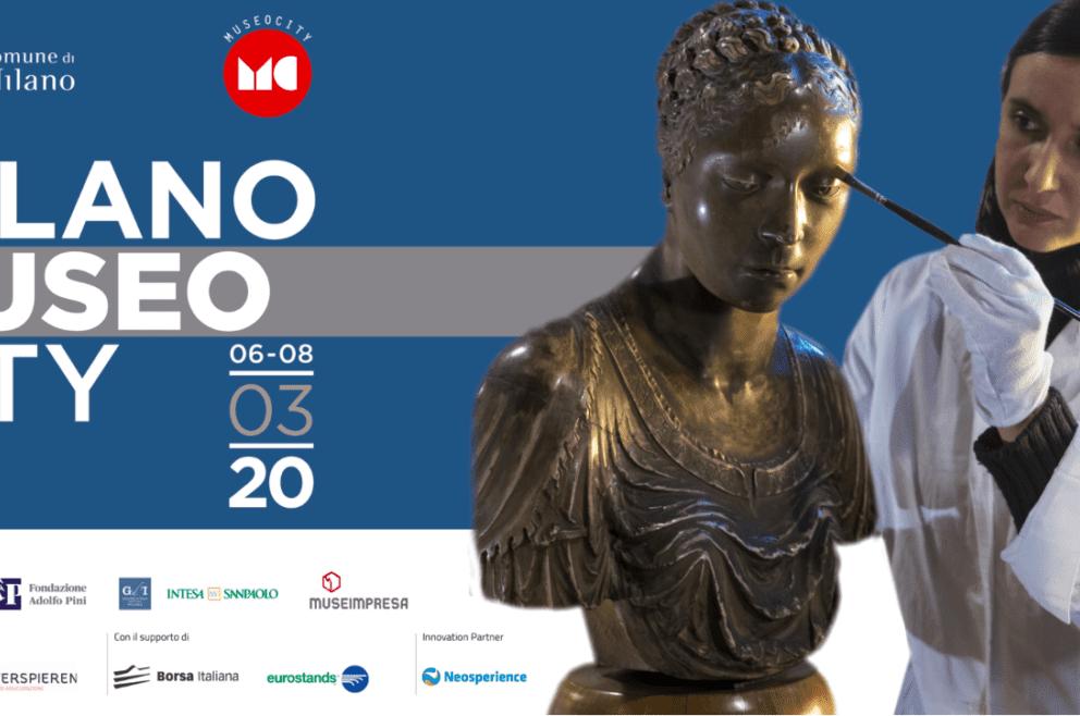 MILANO MUSEO CITY 2020. Da domani 31 Luglio tre giorni di cultura a 360 gradi.