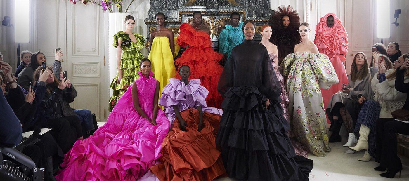 Valentino e il teaser della sua Haute Couture a Cinecittà