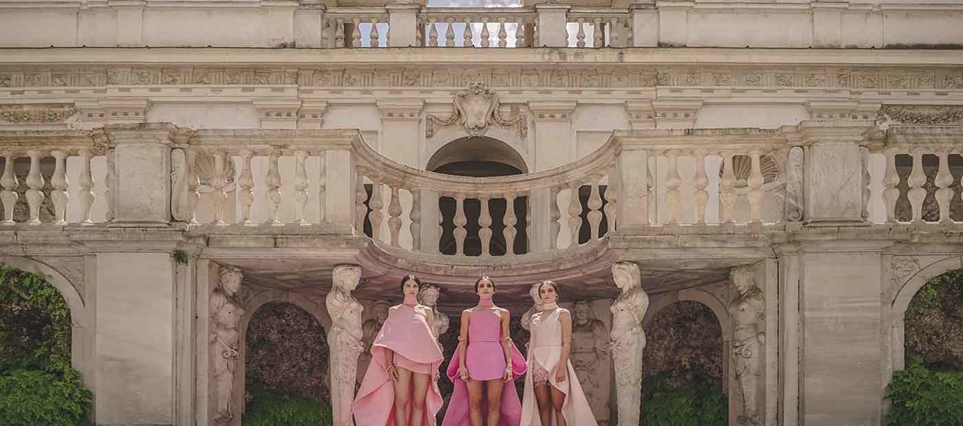 Antonio Grimaldi rende omaggio a Elettra con l'Haute Couture