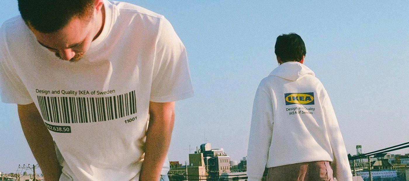 Ikea entra nel mondo della moda con la sua linea d'abbigliamento
