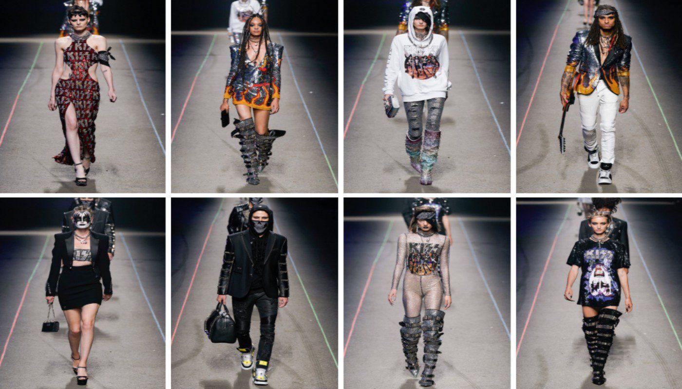 hilippe Plein alla Milano Fashion Week