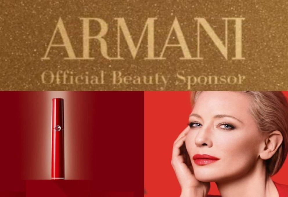Armani beauty al Festival di Venezia 2020: omaggio alla città