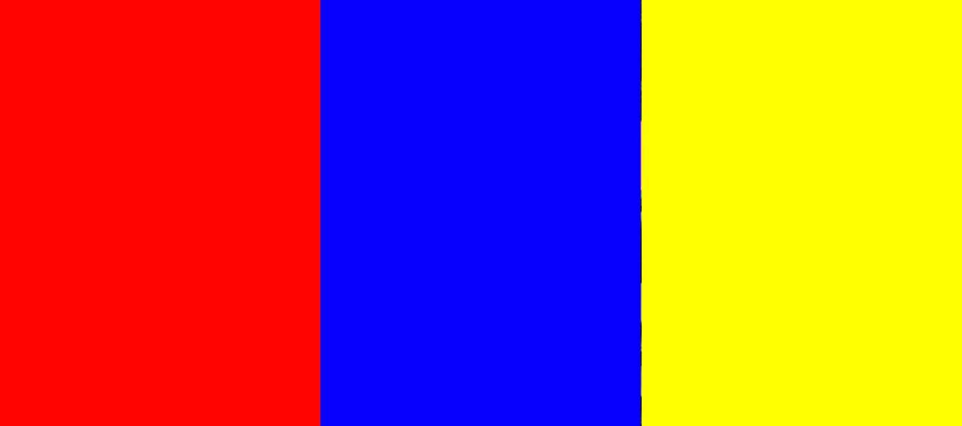 colori primari. blu ciano, rosso magenta e giallo