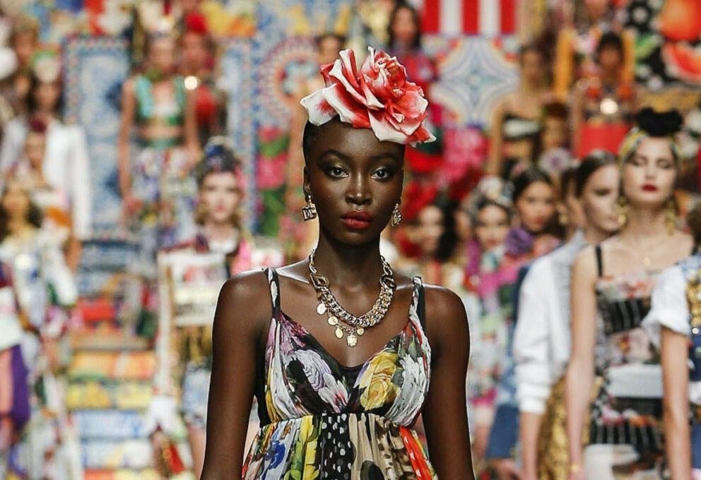 Dolce & Gabbana una primavera-estate 2021 etica e riciclata