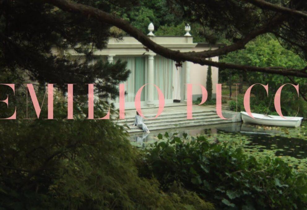 """MFW: Emilio Pucci sfila """"sulla riva"""" con Tomo Koizumi"""