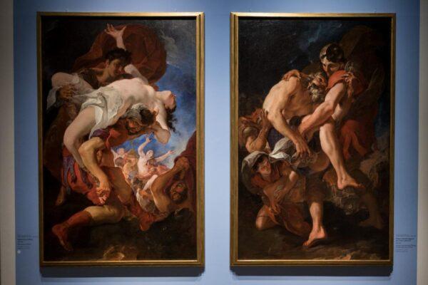 I capolavori del Tiepolo per la prima volta a Milano grazie alle Gallerie d'Italia di Intesa San Paolo.