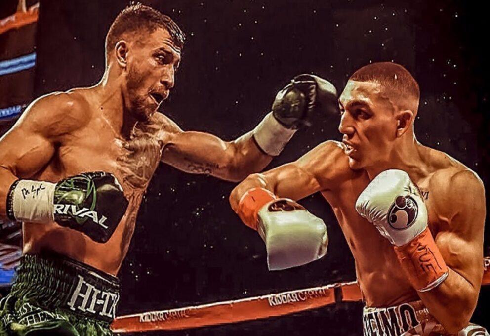 La grande boxe : il trionfo di Lopez contro Lomachenko