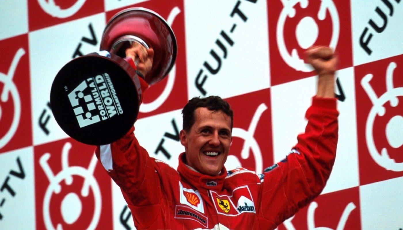 Michael Schumacher 20 anni fa