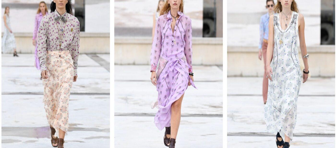 Chloé, Paris Fashion Week: sfilata tra le strade della città