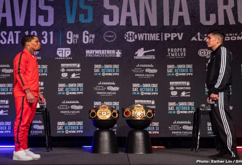 Gervonta Davis vs Santa Cruz: sfida tra i campioni leggeri