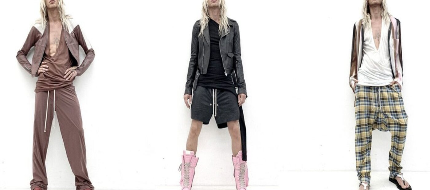 Rick Owens e la sua estetica primordiale alla Paris Fashion Week