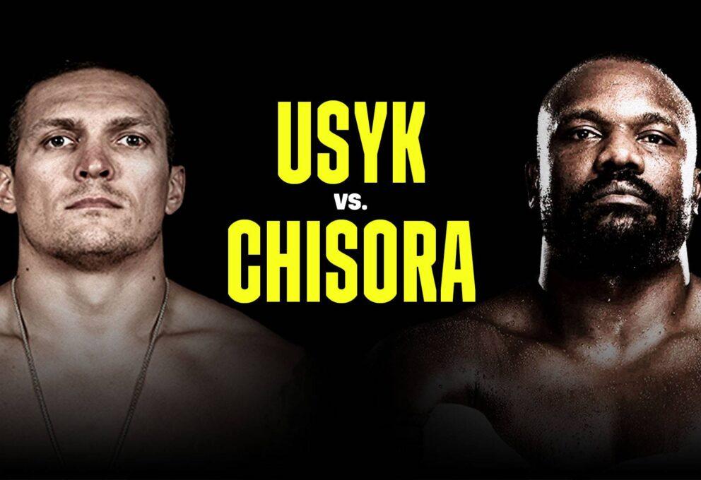 Usyk vs Chisora: la strada verso Joshua per la WBO