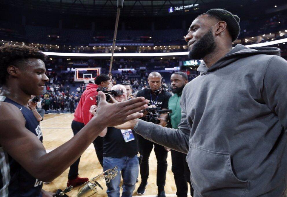 Heat Lakers, ultimissime NBA, Lebron vuole vincere per punire il figlio