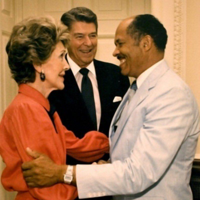 national white house washington dc eugene allen butler ronald reagan