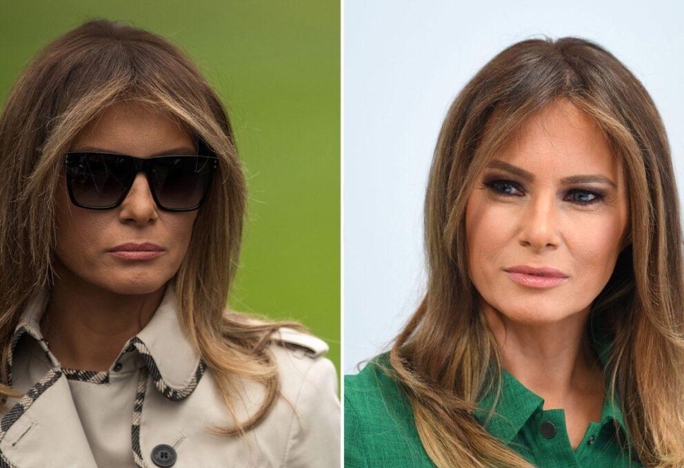 # FakeMelania: la First Lady ha una controfigura?