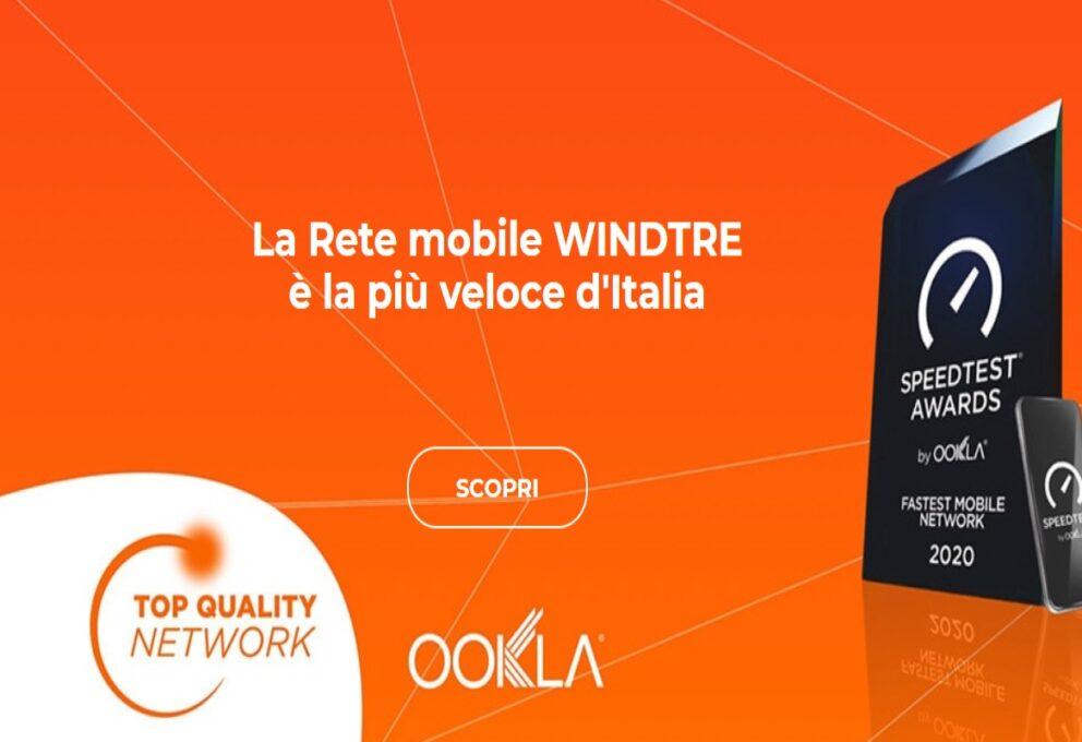 WindTre promuove la rete di nuova generazione: ecco il 5G
