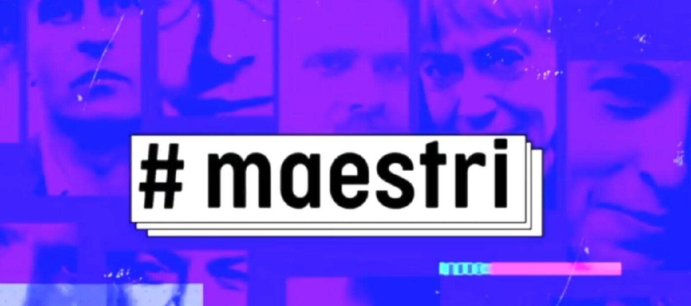#MAESTRI: tornano su Rai 3 i maestri di Edoardo Camurri