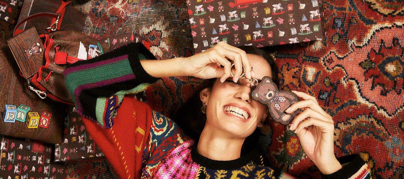 Etro omaggia i giocattoli: per Natale 2020 nasce la Toys capsule collection