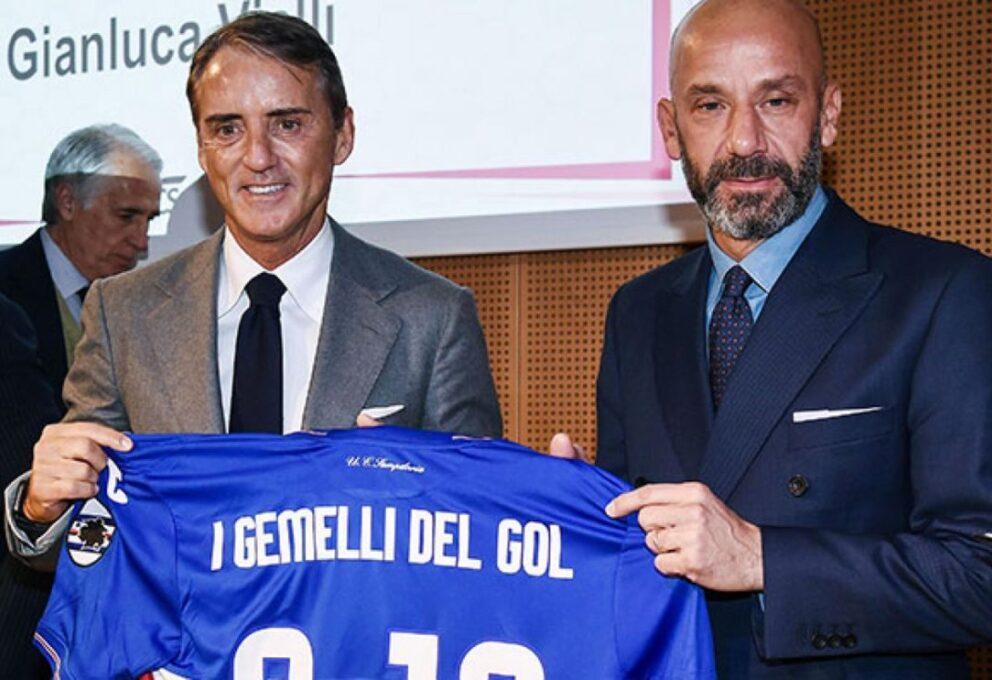 Amicizia tra Mancini e Vialli: i Gemelli del Gol
