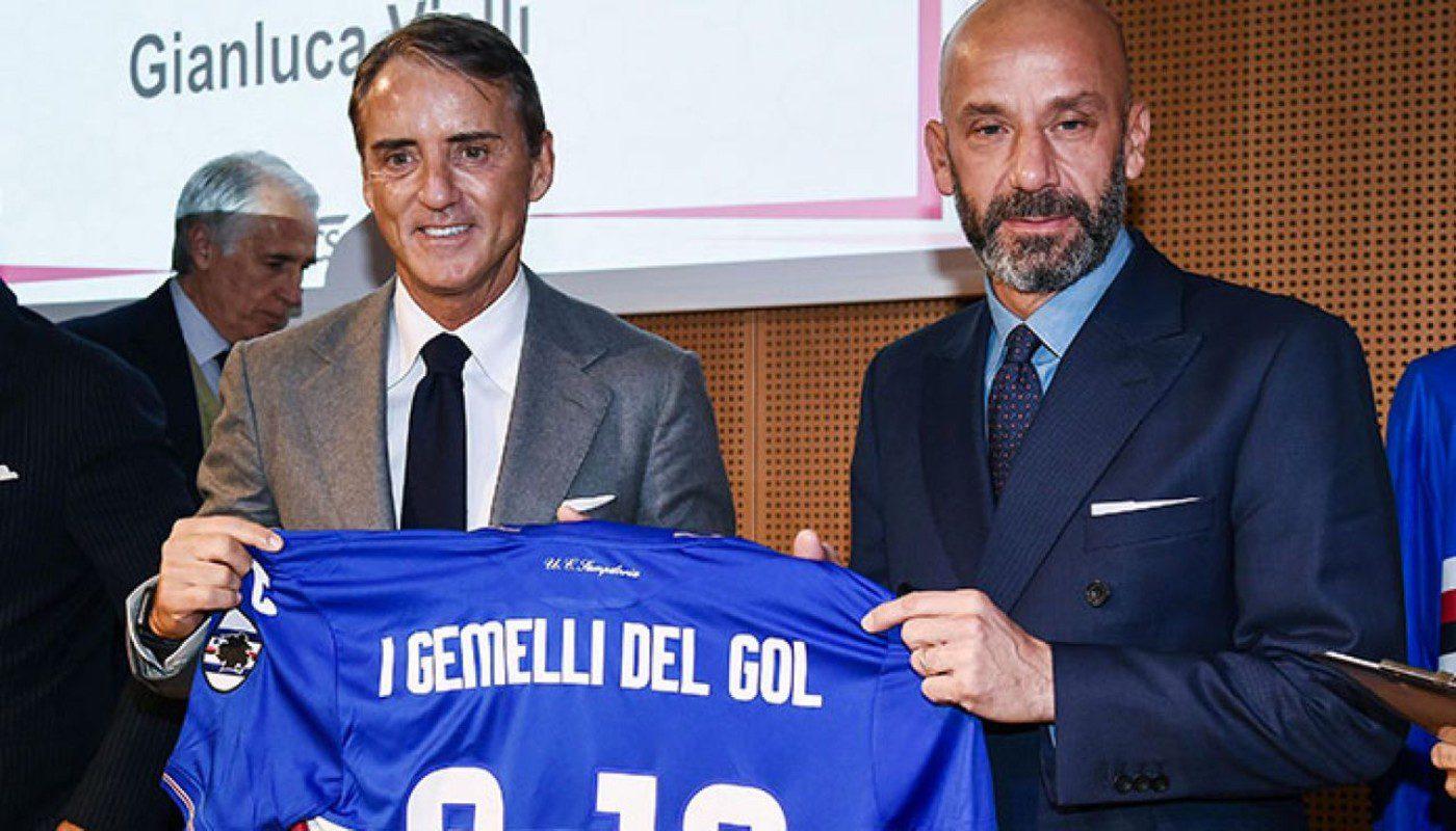 Amicizia tra Mancini e Vialli