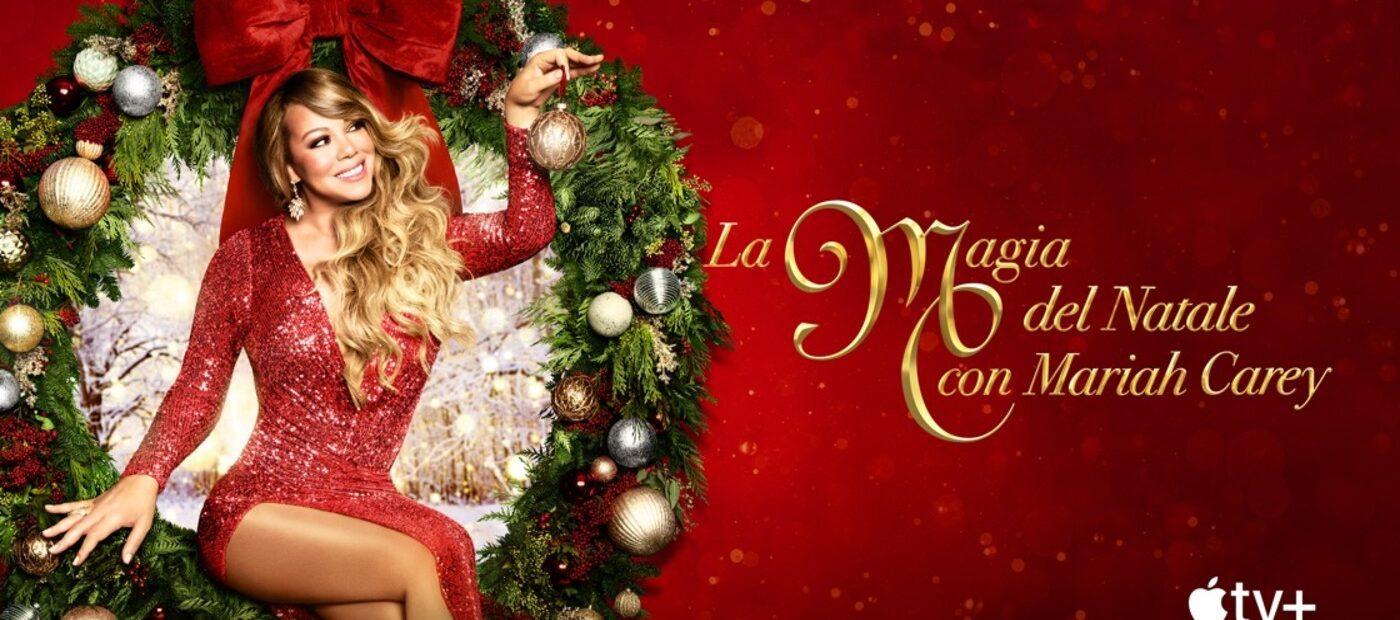 Mariah Carey porta la magia del Natale su Apple TV+