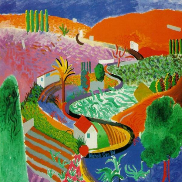 David Hockney, Nichols Canyon (1980)