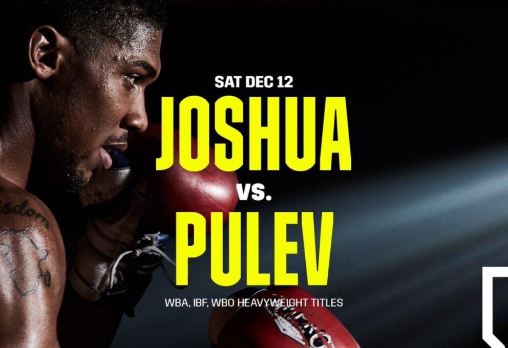Anthony Joshua vs Pulev: it's fight day!!!