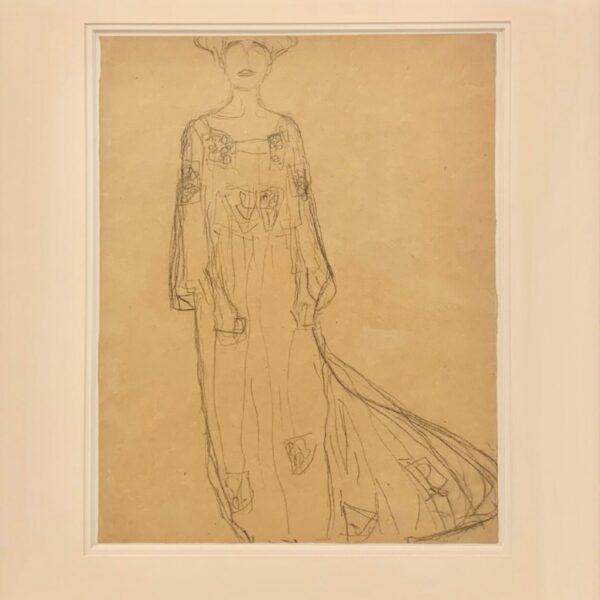 Gustav Klimt STUDY FOR THE PORTRAIT OF ADELE BLOCH-BAUER, 1903