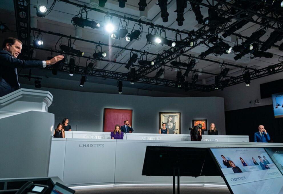 Christie's e Sotheby's: fatturato vendite all'asta per il 2020