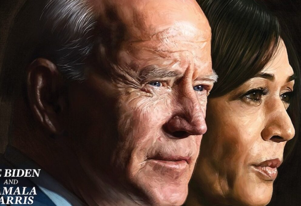 Joe Biden e Kamala Harris sulla copertina del Time come persone dell'anno