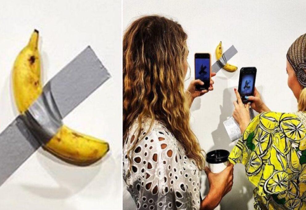 La Banana di Maurizio Cattelan va al Guggenheim