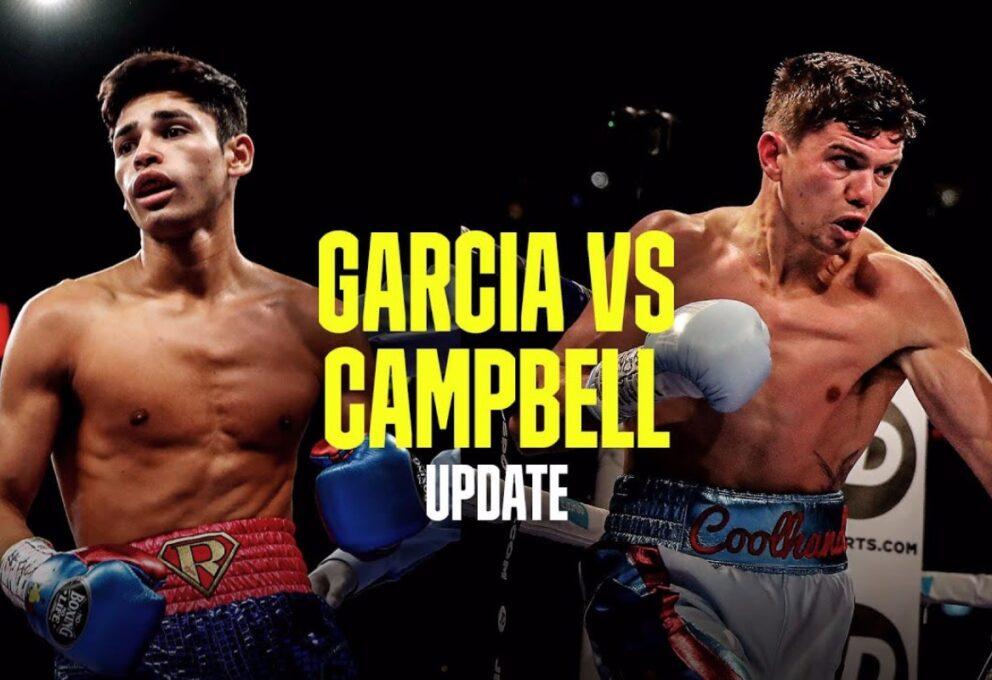 Garcia vs Campbell: quando e dove vedere il match. Ora si fa sul serio per King Ryan