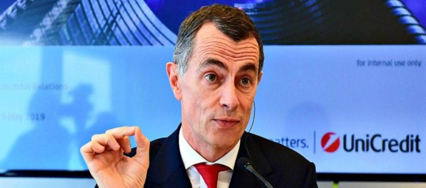 UniCredit: il CEO Mustier si ritirerà a fine mandato