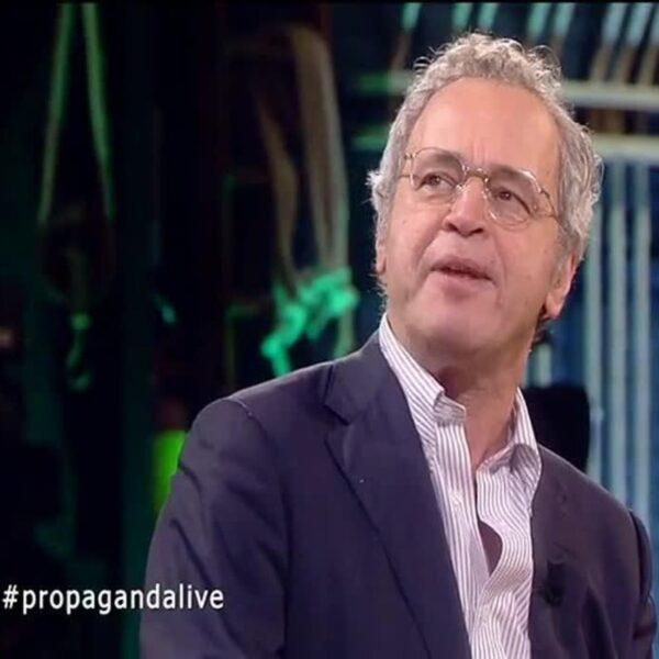 Propaganda live - ospite della scorsa puntata Enrico Mentana