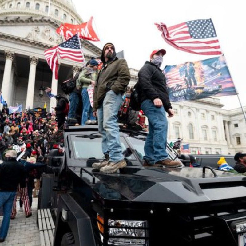 proteste Casa Bianca