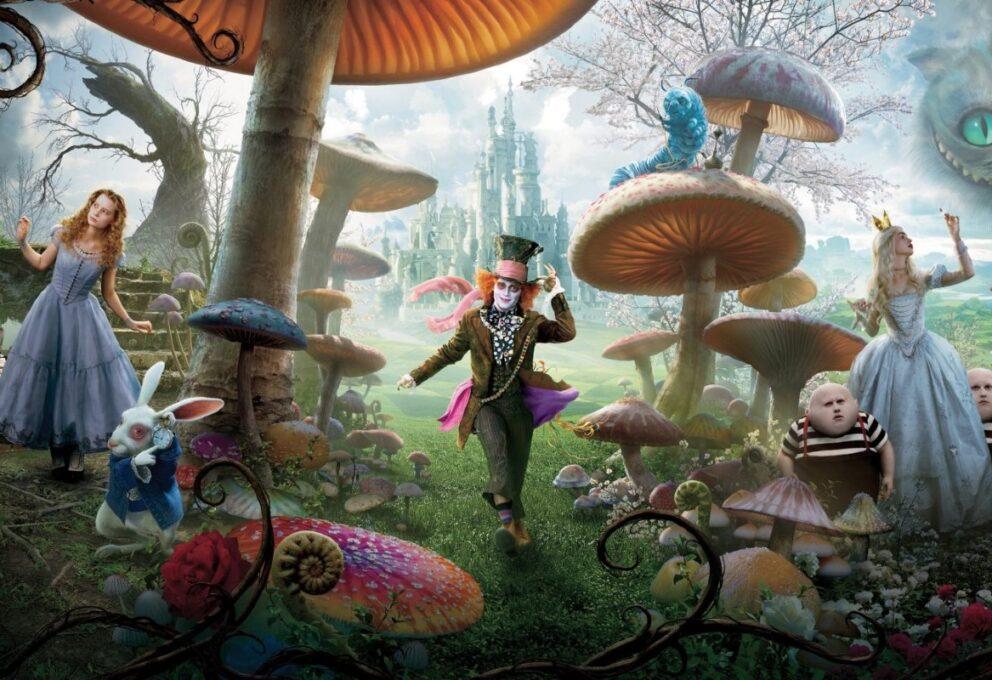 Alice in Wonderland: un cast eccezionale nel film in onda stasera