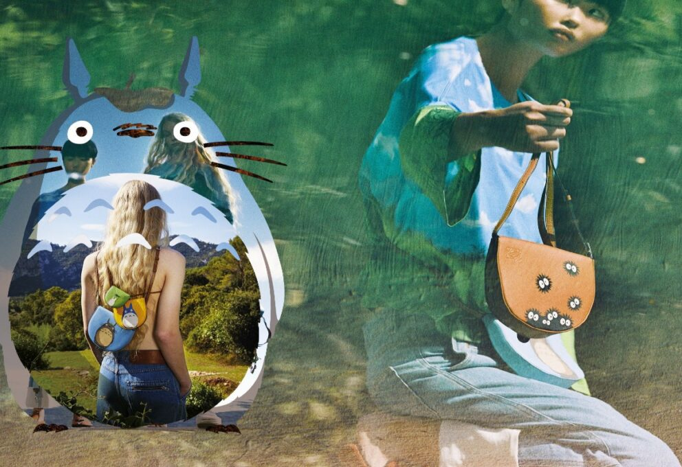 Loewe X My Neighbor Totoro Present Latest Collection