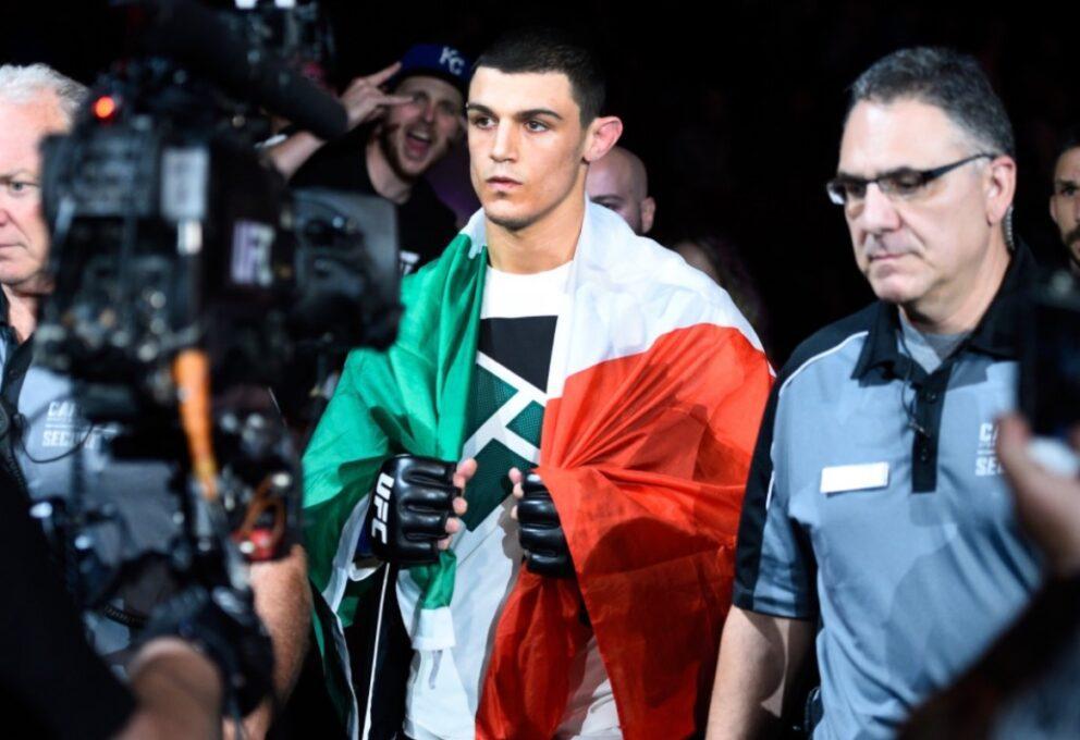 Alessio Di Chirico vs J.Buckley, l'Italia torna dentro l'ottagono UFC