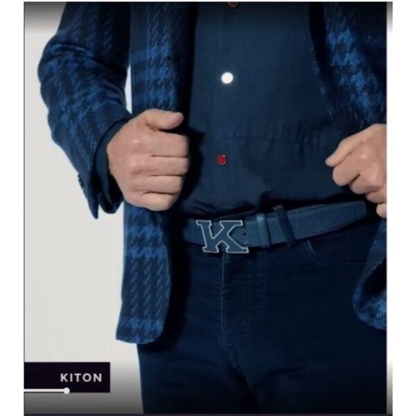 cintura con logo kiton