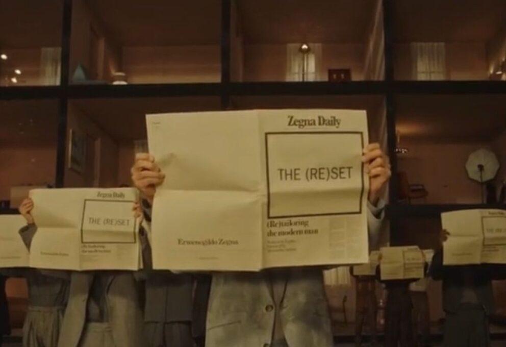 """Ermenegildo Zegna 2021: la collezione uomo """"The (re)set"""""""