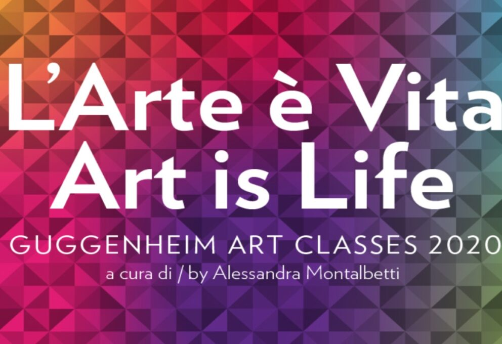 """Peggy Guggenheim Collection – Corsi online """"L'arte è vita"""""""