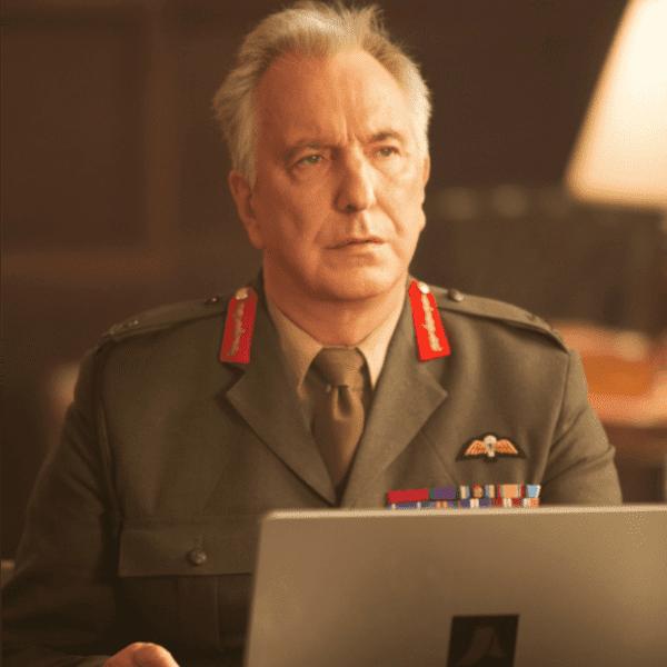 Il diritto di uccidere - nel film Alan Rickman è il generale Benson