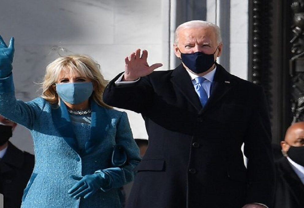 Il primo look di Jill Biden da first lady firmato Markarian